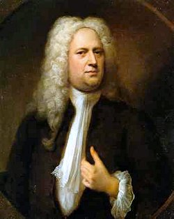 Picture of George Frideric Handel